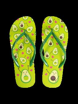 Flip Flops Avocado Love