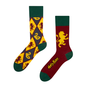 Harry Potter Regular Socks ™ Gryffindor vs Slytherin