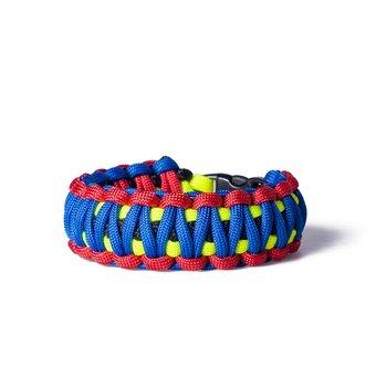 Paracord Überleben-Armband mehrfarbig