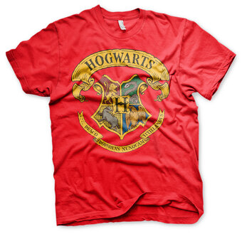 Rotes T-ShirtHarry Potter Hogwarts