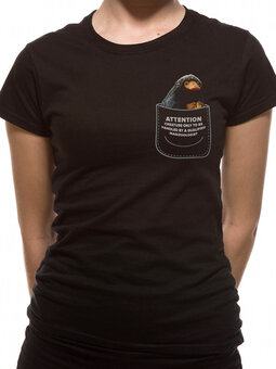 Ženska majica Grindelwaldovi zločini- Niffler u džepu