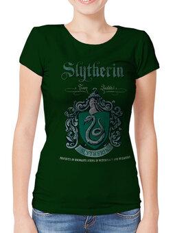 Дамска тениска Harry Potter - Slytherin куидич отбор