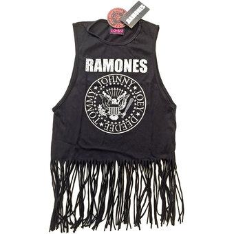 Damen Top Ramones Vintage Presidential Seal