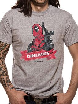 T-Shirt Deadpool - Chimichanga point