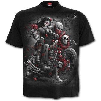 Tričko Mrtvý motorkář
