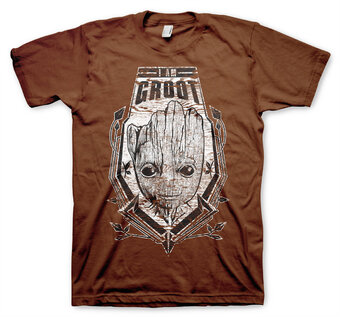 T-Shirt Guardians of the Galaxy Schild