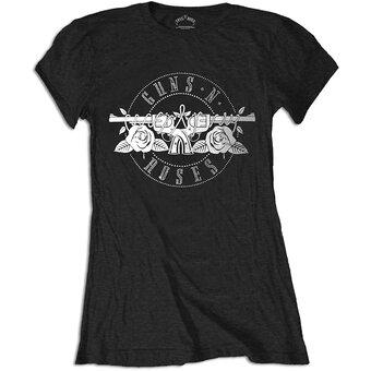 Dámske tričko Guns N' Roses Circle Logo