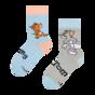 Vrolijke kindersokken Tom en Jerry ™ Valkuil