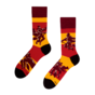 Chaussettes rigolotes Harry Potter ™ Quidditch