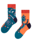 Chaussettes rigolos pour enfants Robot