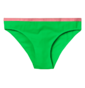 Neonově zelené dámské kalhotky