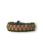 Paracord Bracelet Multicam W2With Fire Starter, Compass and Whistle