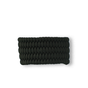 Black Paracord Bracelet ShieldWith Fire Starter and Whistle