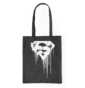 Canvas Tote Bag Superman™ Black and White Logo