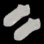 Socquettes en bambou grises