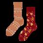 Vrolijke warme sokken Peperkoekwereld