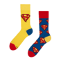 Chaussettes rigolotes Superman ™ Logo