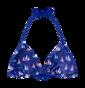 Triangle Bikini Top Sailboats