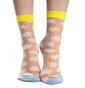 Nylon Socks Daisies