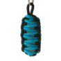 Reflective Paracord Survival Key Chain King Cobra - Blue