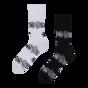 Harry Potter Regular Socks ™ Black and White