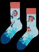 Veselé ponožky Vtipný čtverzubec