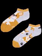 Veselé kotníkové ponožky Pes Corgi