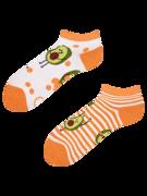 Veselé kotníkové ponožky Vtipné avokádo