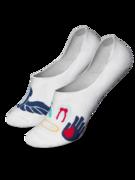 Chaussettes invisibles rigolotes Santé