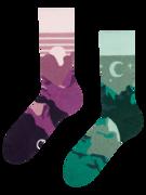 Živahne nogavice Sončni zahod in noč