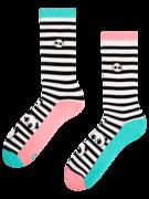 Veselé športové ponožky Čiernobiela Panda