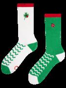 Veselé sportovní ponožky Beruška na čtyřlístku