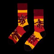 Wesołe skarpetki Harry Potter ™ – Quidditch