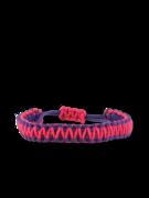 Fialovo-ružový microcord náramok King Cobra