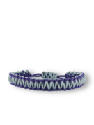 Brățara microcord violet-gri King Cobra