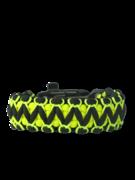 Bracelet en paracorde noir et jaune Viper avec allume-feu, boussole et sifflet