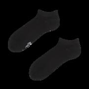 Calcetines tobilleros negros de bambú