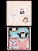 Kinder-Geschenkbox Polartiere