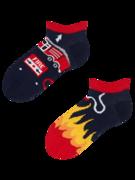 Veselé dětské kotníkové ponožky Hasič