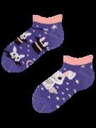 Veselé dětské kotníkové ponožky Kouzelný králíček