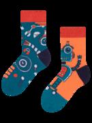 Dětské veselé ponožky Robot