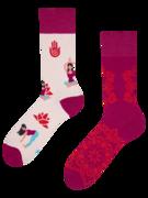 Živahne nogavice Joga mandala