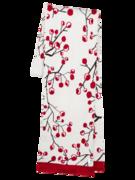 Veselý dámský pletený šál Zimní bobule