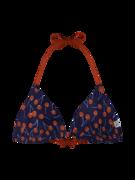 Wesoły trójkątny top od bikini Wiśnie