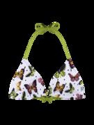 Wesoły trójkątny top od bikini Kolorowe motyle