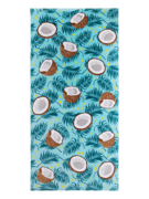 Wesoły ręcznik plażowy kokos