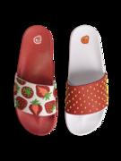 Veselé pantofle Jahody
