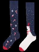 Vesele dokoljenke Božićni polarni medvjed