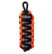 Orange reflektierender Paracord Schlüsselanhänger King Cobra