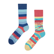 Veselé ponožky Žij, miluj a směj se